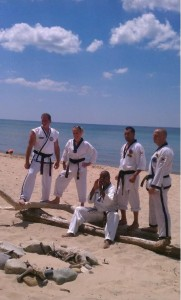 Martial Arts Beach Side Training -12