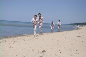Martial Arts Beach Side Training -10
