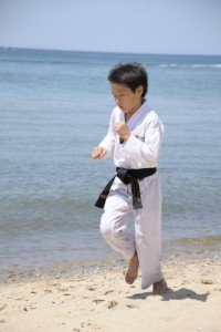 Martial Arts Beach Side Training -6