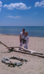 Martial Arts Beach Side Training -5