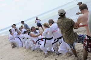 Martial Arts Beach Side Training -2