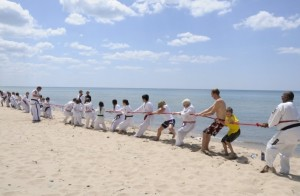 Martial Arts Beach Side Training -1